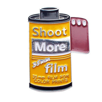Shoot More 35mm Film Pin - Pin