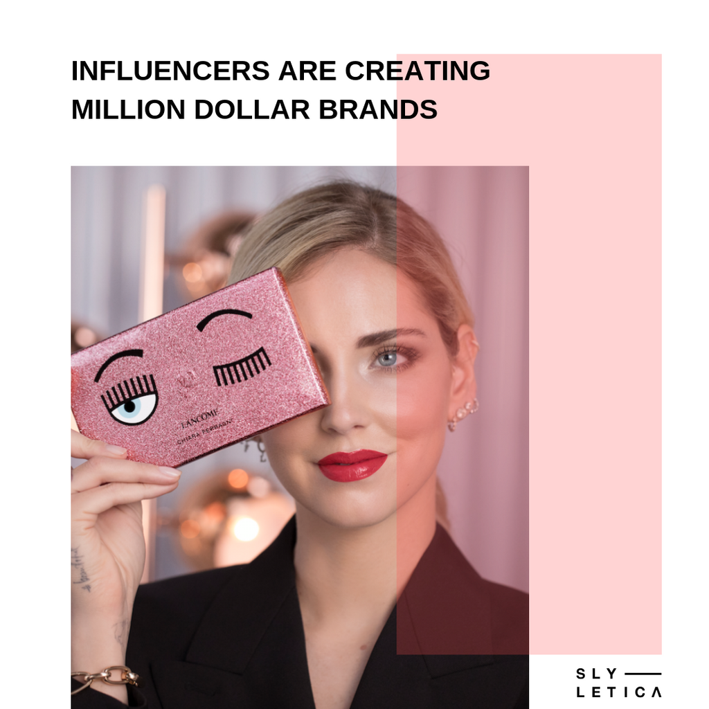 Influencers creating million dollar brands with following