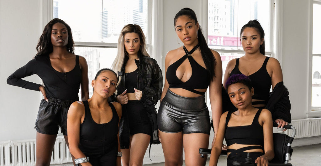 Secndnture lifestyle brand by Jordyn Woods group photo