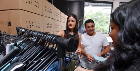Simon and Yetta Rawadi are the founders of Slyletica, which creates clothing ranges for influencers