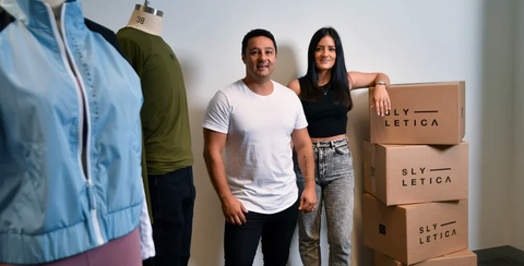 Simon and Yetta Rawadi ensure each influencers clothing collection is different. Credit:Joe Armao