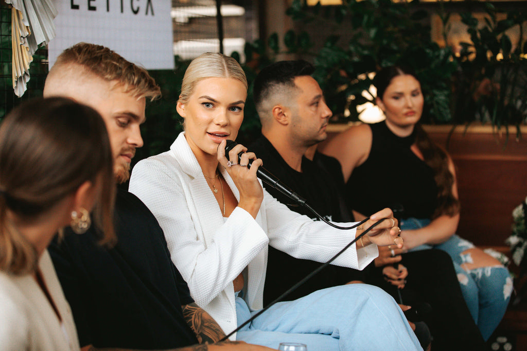 chloe szep influencer panel slyletica event