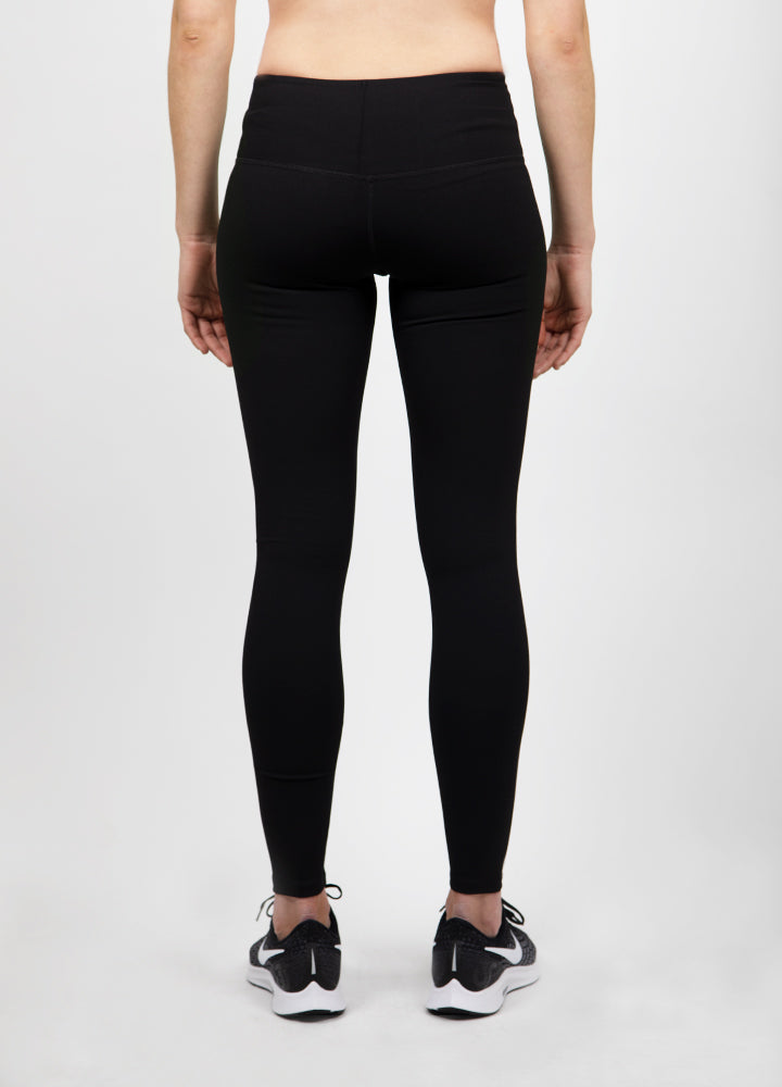 Long Black Leggings - Slyletica