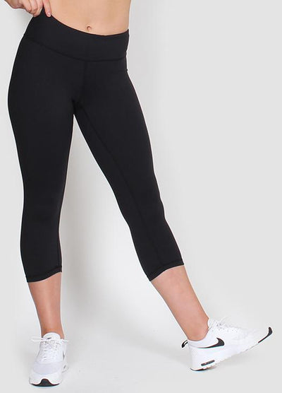 Short Black Leggings - Slyletica