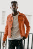 Colored Twill Jacket (Orange)