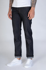 Basic Selvedge Slim/Straight Jeans (Black)