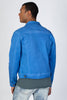 Colored Twill Jacket (Blue)
