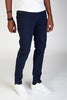 5-Pocket Skinny Twill Pants (Navy)
