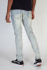 Paint Splashed Jeans (Blue)