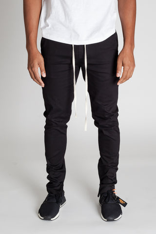 Ankle Zip Pants (Black)