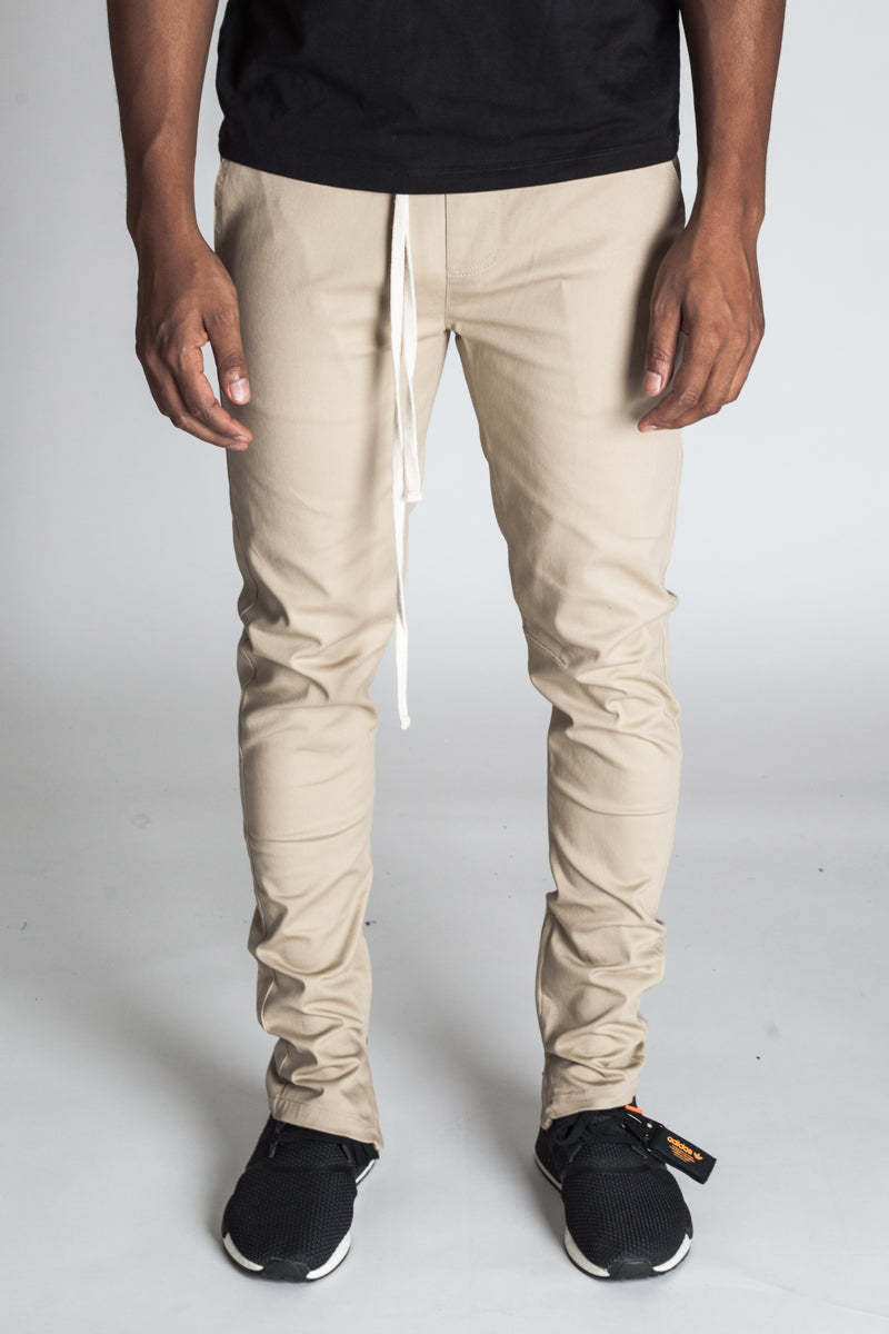 Ankle Zip Pants (Khaki)