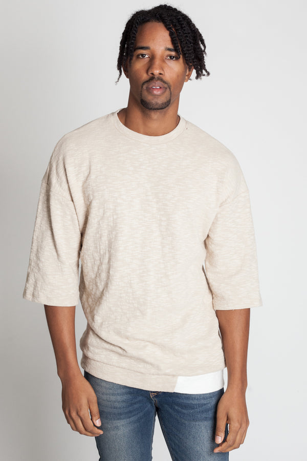 Colorblocked Tee (Desert)