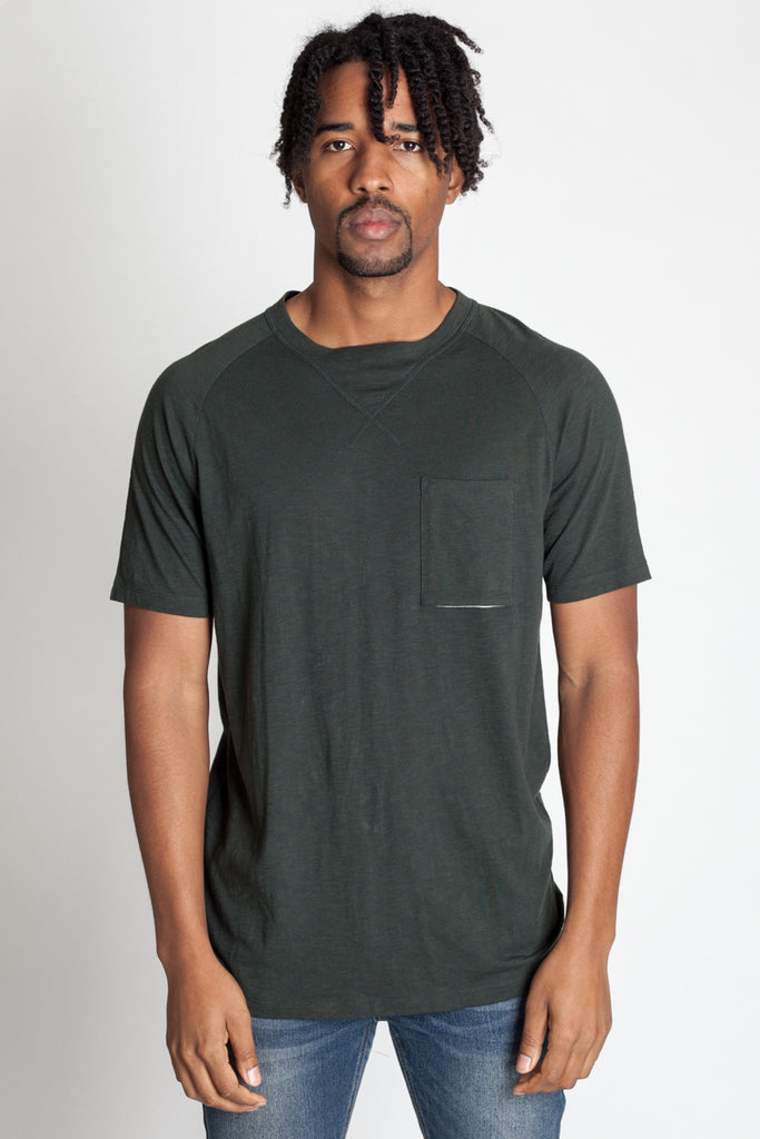 Raglan Pocket Tee (Available in Other Colors)