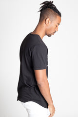 Short Sleeve Logo Tee (Black)