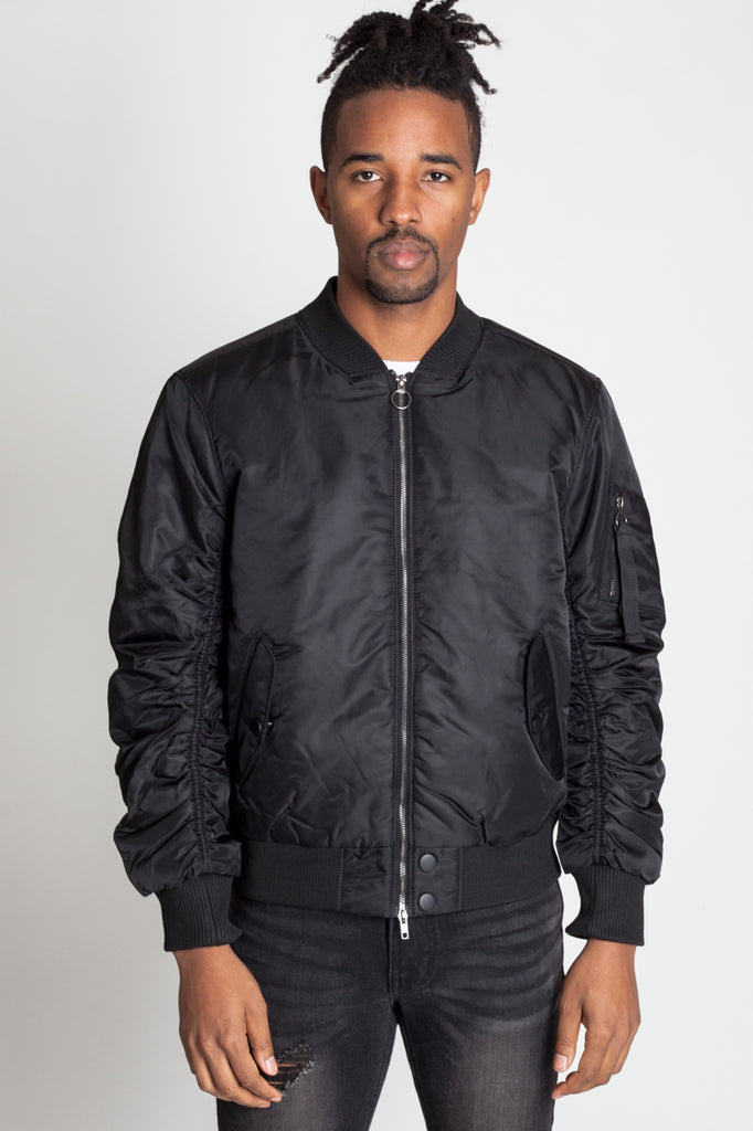 MA1 Flight Jacket (BLACK)