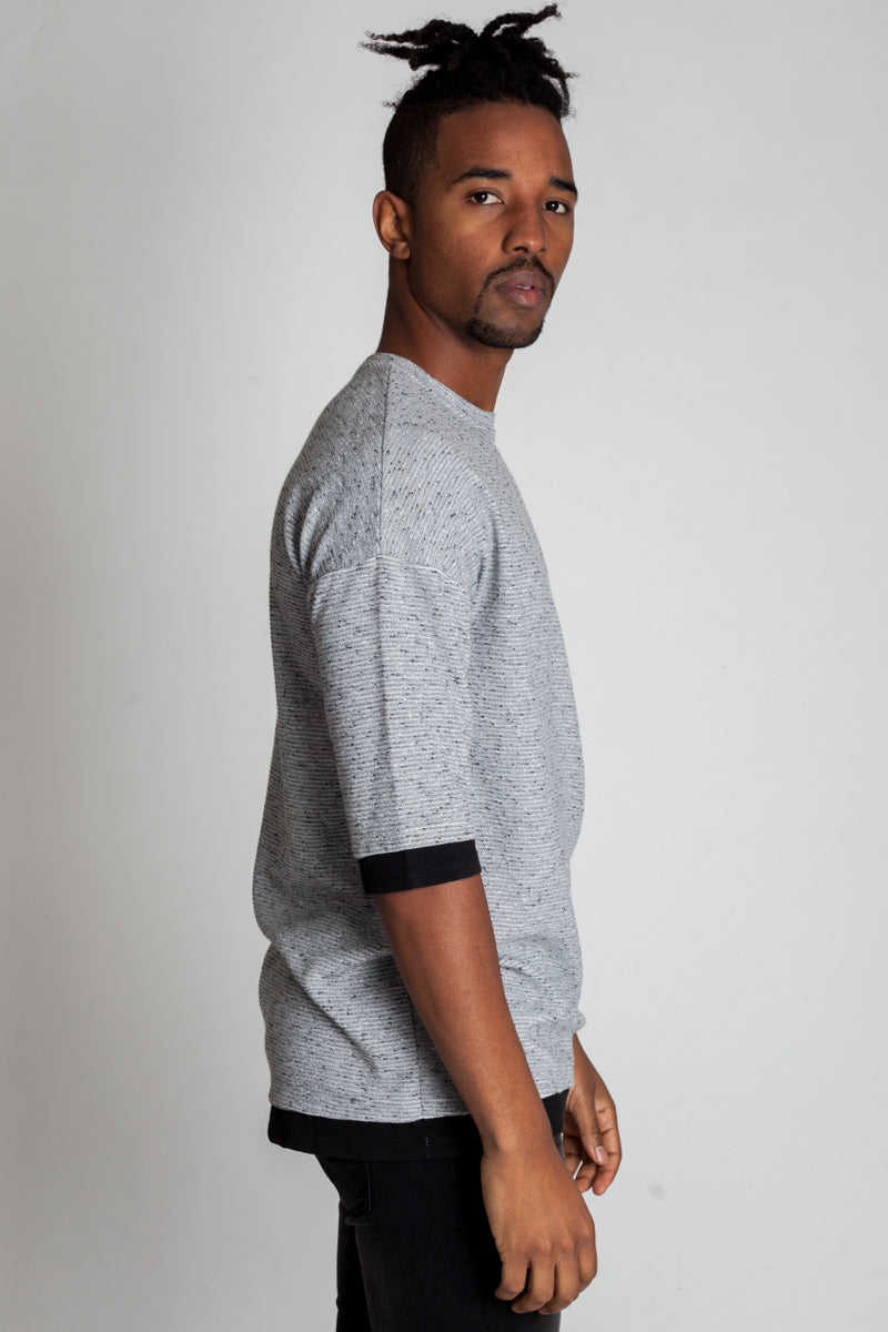 2-Ply Drop Shoulder Tee