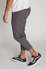 Cropped Highwater Chinos (Charcoal)