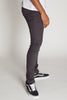 5-Pocket Skinny Twill Pants (Charcoal)