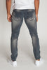 Skinny Distressed Jeans (Ink)
