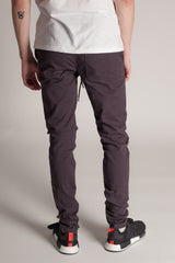 Ankle Zip Jeans (Charcoal)