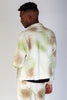 Twill Jacket with Multi-Color Spray (Forest)