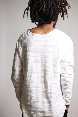 Raglan Long Sleeve Tee (Bone) - DONMAKER - [product/vendor] - [product-type] - donmaker