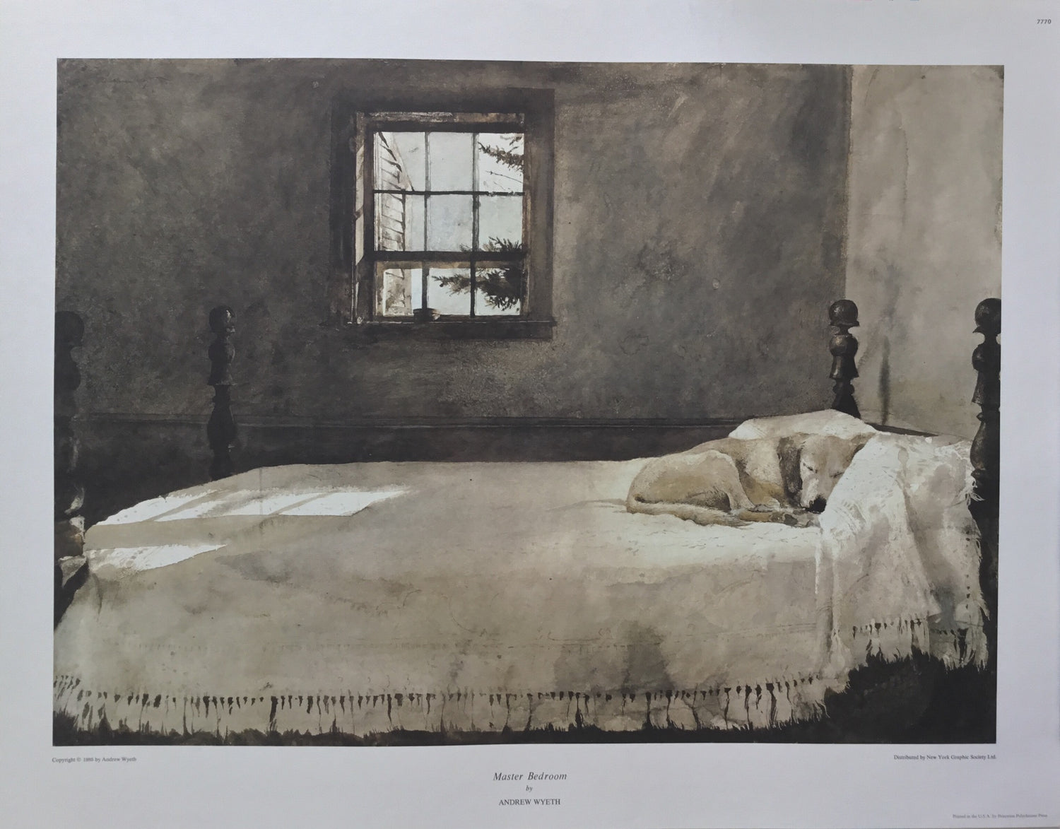 Special - Master Bedroom by Andrew Wyeth