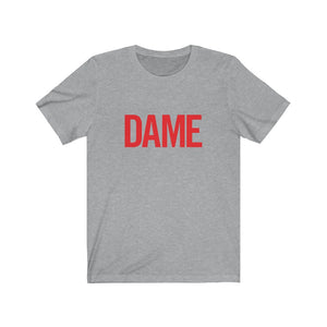 DAME Classic Logo Unisex Tee (+ colors)