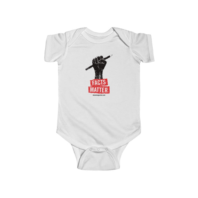 Facts Matter Baby Onesie (+ colors)