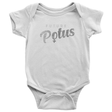 Future POTUS Baby Onesie - Script (more colors available)