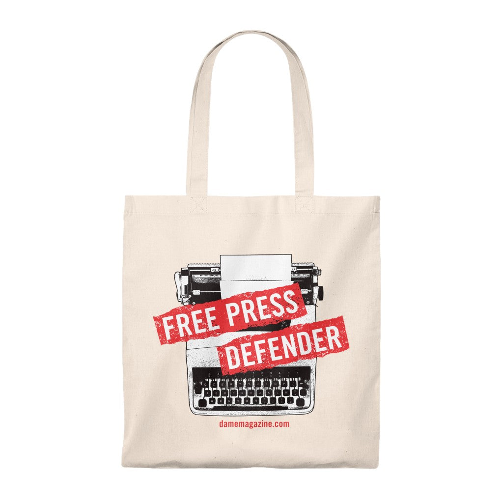 Free Press Defender Tote Bag