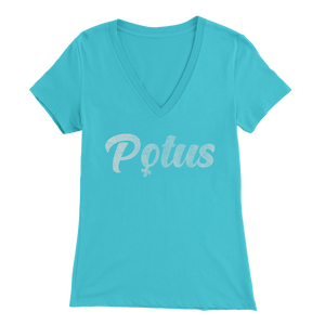 POTUS Women's V-Neck