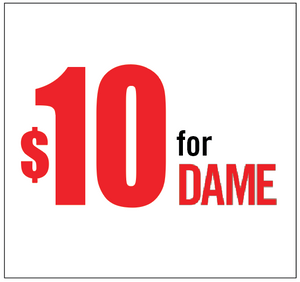 Support DAME Magazine with a $10 contribution