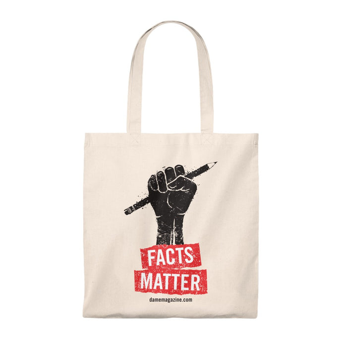 Facts Matter Tote Bag