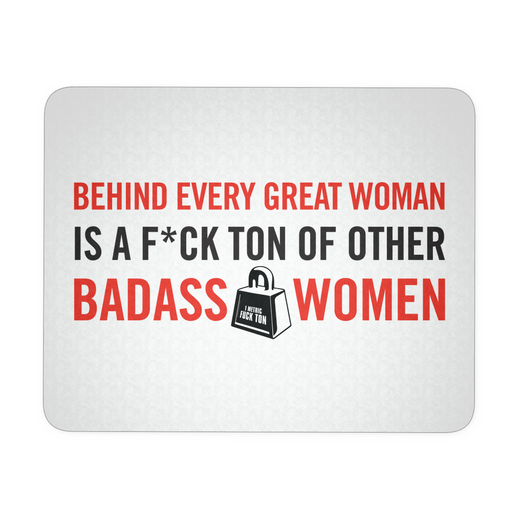 Badass Women Mousepad
