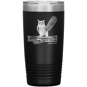Sapere Aude (Dare to Know)  20oz Tumbler(Black/Stainless)