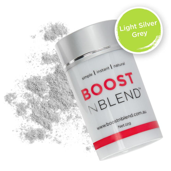 Light Silver Grey BOOSTNBLEND™ - BOOST hair volume at the roots