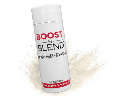 Iced Platinum Blonde Boost N Blend™ - BOOST hair volume at the roots