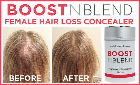 Boost N Blend hair loss treatment for women