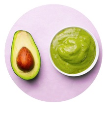 avocado hair mask for thin hair