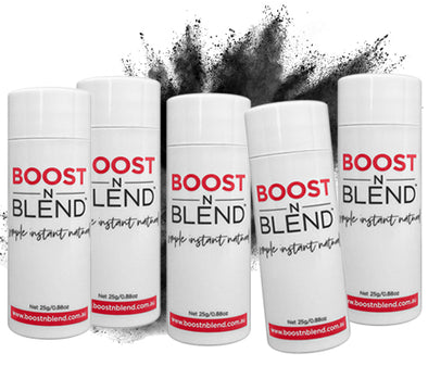 Boost N Blend™ Midnight Shadow Black 5 Pack - GET ONE FREE! Bulk Buy