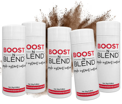 Boost N Blend™ Smooth Medium Brown 5 Pack Bundle - GET ONE FREE! Bulk Buy