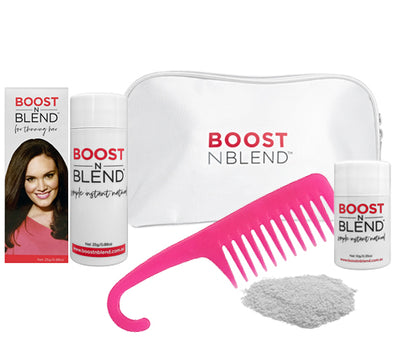 Boost N Blend™ Gift Pack WITH COMB - Light Silver Grey