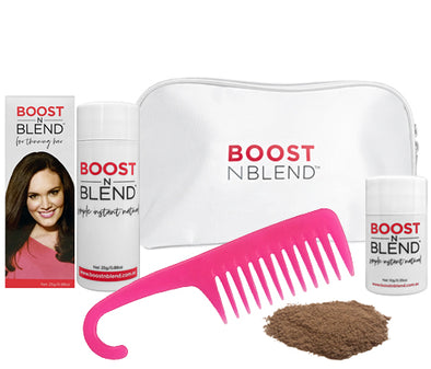 Boost N Blend™ Gift Pack WITH COMB - Medium Brown