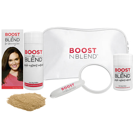 Boost N Blend™ Gift Pack Bundle Bold Buff Blonde with Foldable Mirror