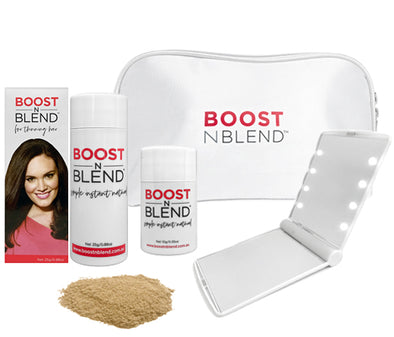 Boost N Blend™ LED Mirror Bundle Gift Pack - Bold Buff Blond