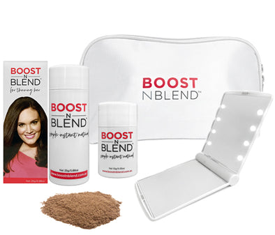 Boost N Blend™ LED Mirror Bundle Gift Pack - Light Brown