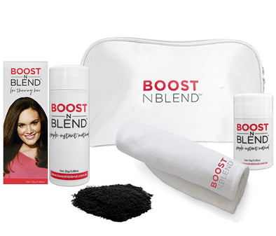 Boost N Blend™ Bundle Gift Pack with Microfibre Towel - Midnight Shadow Black
