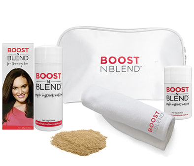 Boost N Blend™ Bundle Gift Pack with Microfibre Towel - Bold Buff Blond