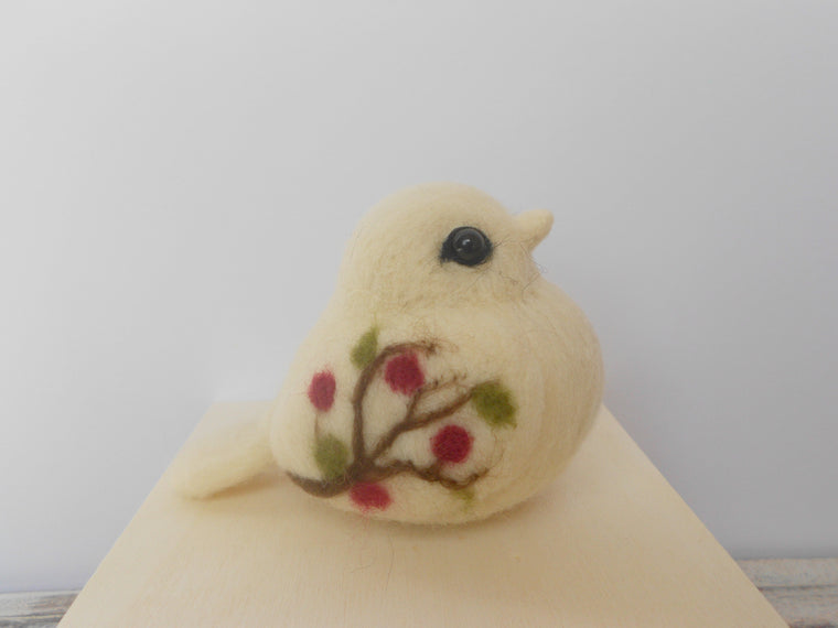 Collectible bird, Bird figurine, Romantic gift